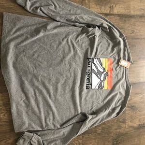 Patagonia long sleeve shirt.  New with tags xxl.
